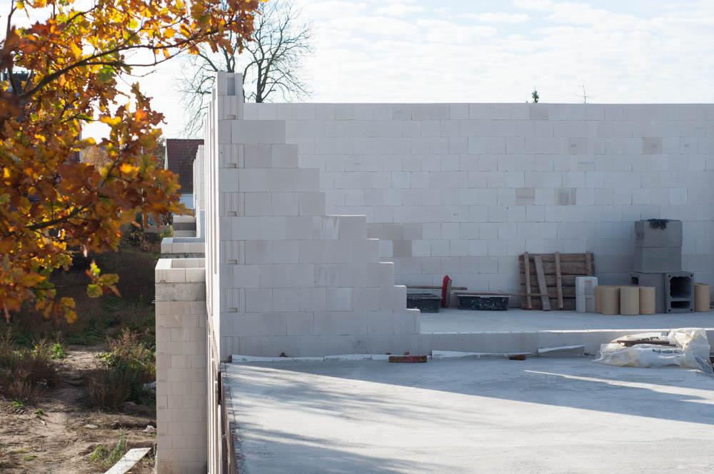 ściana szczytowa budynku C